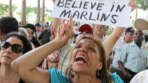 Protesting in Miami