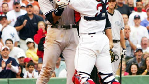 The Varitek-A-Rod brawl