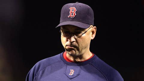 Oct. 12, 2011 - Francona thrown under the bus