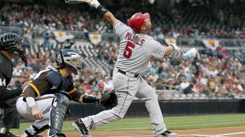 Pujols pops up