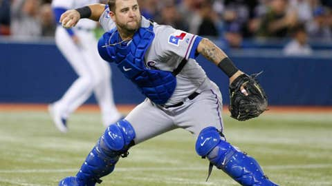 AL catcher: Mike Napoli, Rangers