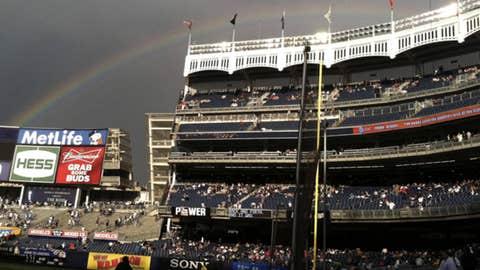 Yankees rainbow