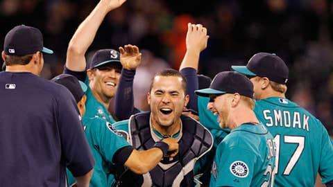 Six pitchers, one catcher