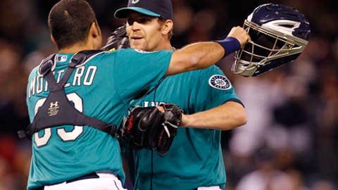 Montero hugs sixth of six