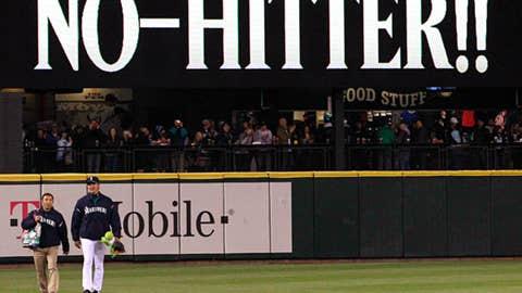 Six pitchers, no hits