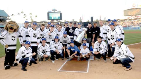 Kings honored at Dodger Stadium