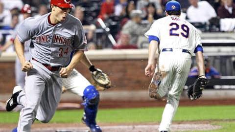 Pitcher makes a run