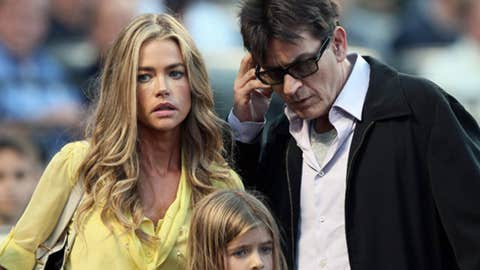 Denise Richard and Charlie Sheen