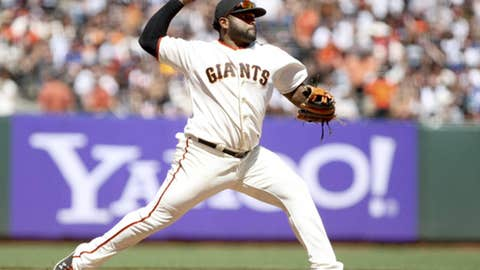 NL third base: Pablo Sandoval, Giants