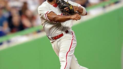 Nice throw, J-Ro