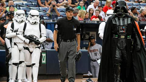 Force is with the umps