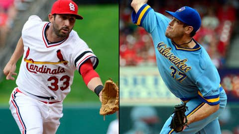 Cardinals and Brewers