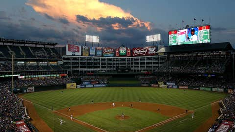 Texas sunset, not a fire