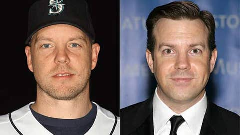 Jarrod Washburn and Jason Sudeikis