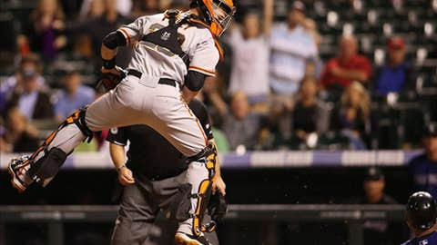 Posey climbs the ladder