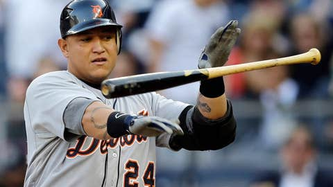 Miggy strikes out