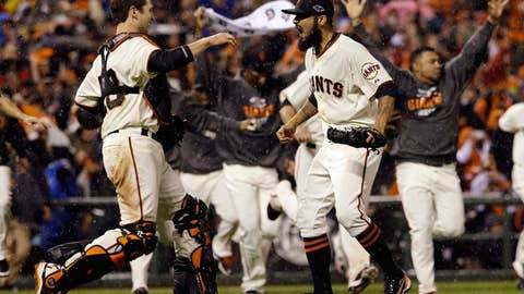 Heading to the World Series