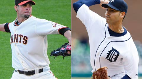 Ryan Vogelsong vs. Anibal Sanchez