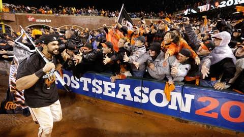Hometown fans celebrate