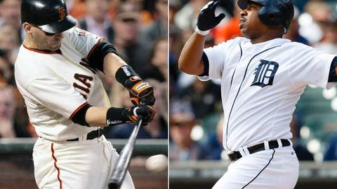 Marco Scutaro vs. Delmon Young