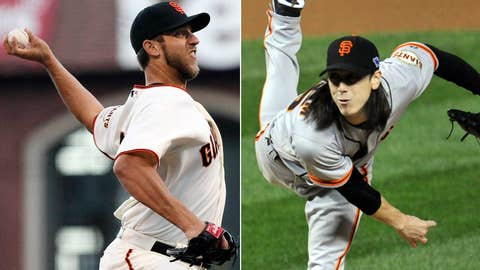 Madison Bumgarner vs. Tim Lincecum
