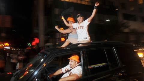 Giants jubilation