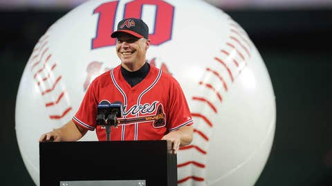 Chipper gives back