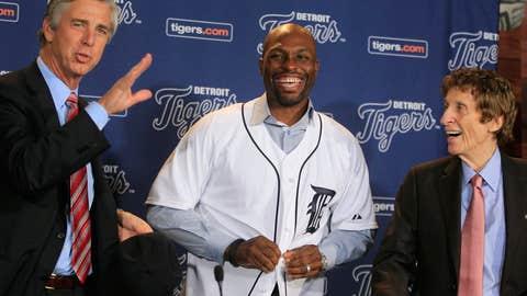 Torii Hunter to Detroit Tigers