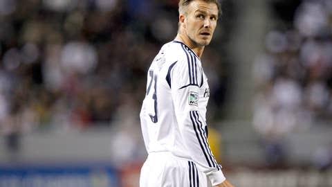 England: David Beckham, Soccer