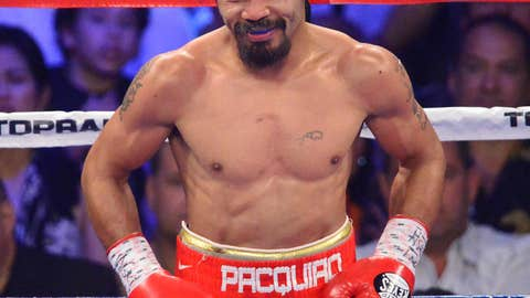 Philippines: Manny Pacquiao, Boxing
