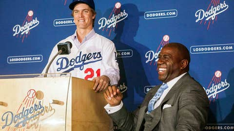 Zack Greinke to Dodgers