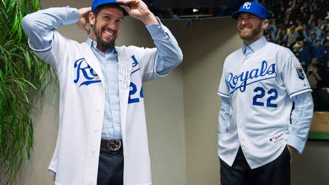James Shields and Wade Davis, Rays to Royals
