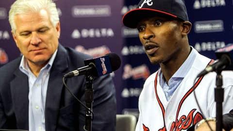 B.J. Upton to Braves
