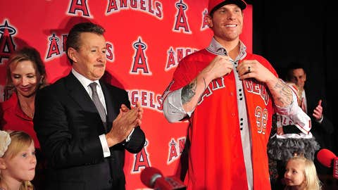 Josh Hamilton to Angels