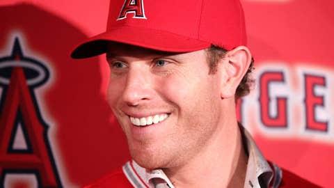 Josh Hamilton, Los Angeles Angels, $25 million per year