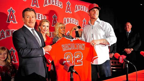 Josh Hamilton to Angels