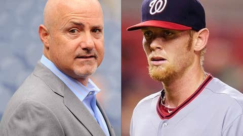 Mike Rizzo and Stephen Strasburg