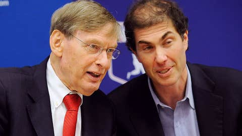 Bud Selig and Michael Weiner