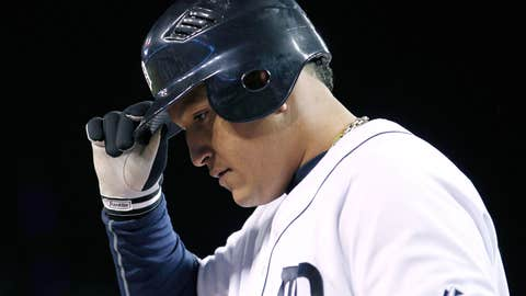 Miguel Cabrera's encore after winning the Triple Crown
