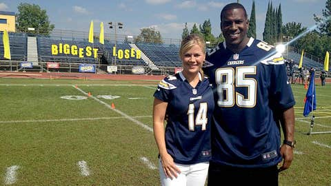 "Antonio Gates, other NFL stars, ""The Biggest Loser"""