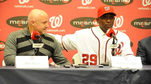 Rafael Soriano to Nationals