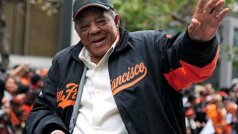 Willie Mays, 82