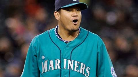 Felix Hernandez, Seattle Mariners, $25 million per year
