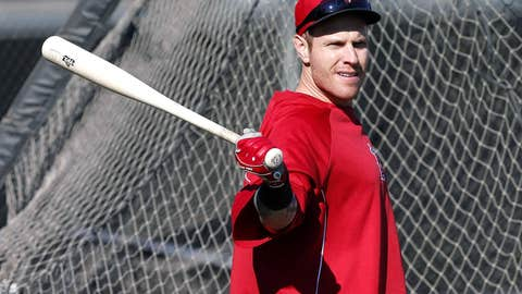 Right fielder, Josh Hamilton, Los Angeles Angels