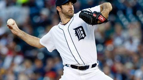 Starting pitcher, Justin Verlander, Detroit Tigers