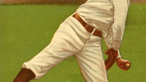 Hooks Wiltse, New York Giants — July 4, 1908