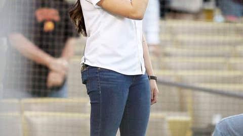 LA Dodgers: Jenna Ushkowitz