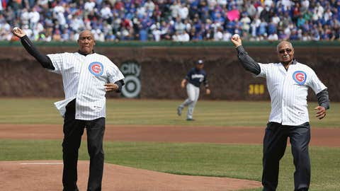 Cubs: Ferguson Jenkins and Billy Williams