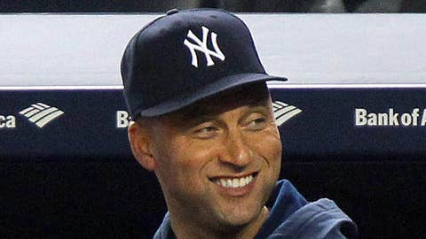 Image: New York Yankees shortstop Derek Jeter (Brad Penner/USA Today Sports)