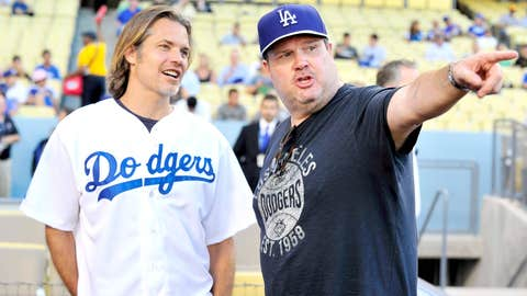Timothy Olyphant and Eric Stonestreet